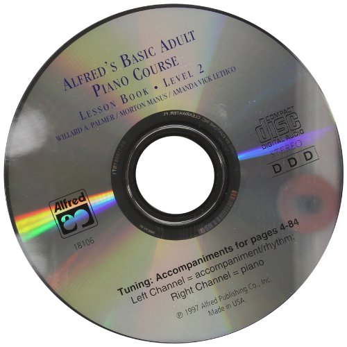 9780739019436: Alfred's Basic Adult Piano Course: CD for Lesson Book. Level 2