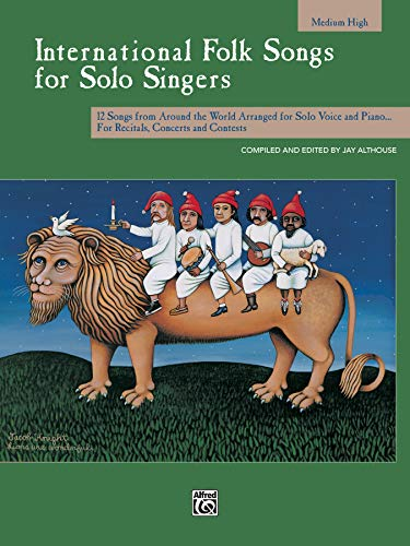 9780739019481: International Folk Songs for Solo Singers: Medium High Voice