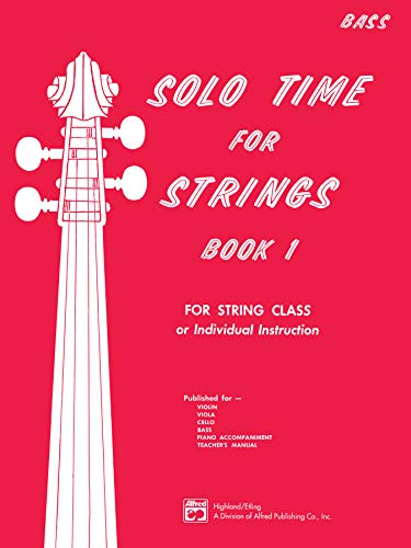 9780739019566: Solo Time for Strings, Bk 1: Bass