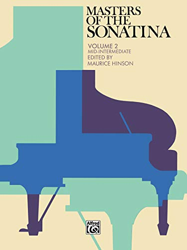 9780739019634: Masters of the Sonatina, Bk 2 (Alfred Masterwork Editions)