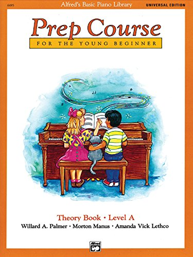 9780739019689: Alfred's Basic Piano Prep Course Theory Book, Bk a: Universal Edition (Alfred's Basic Piano Library)
