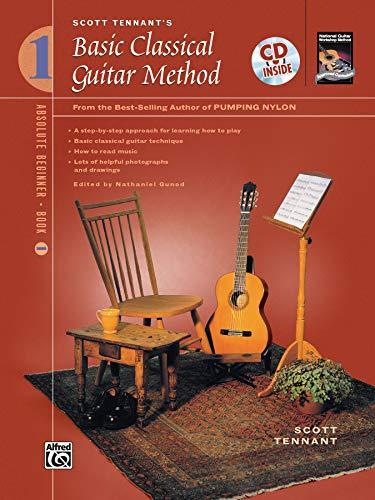 9780739019832: Scott Tennant's Basic Classical Guitar Method, Book 1 (Book & CD)