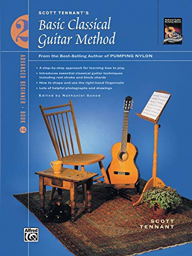9780739019856: Scott Tennant's Basic Classical Guitar Method: Advanced Beginner