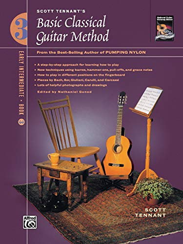 9780739019887: Basic Classical Guitar Method, Bk. 3: From the Best-Selling Author of Pumping Nylon