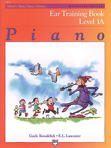 9780739020029: Alfred's Basic Piano Library Ear Training, Bk 1A