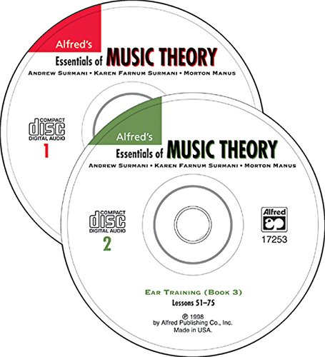 9780739020135: Ear Training Cds 1 & 2 Combined: Alfred'S Essentials of Music Theory: Ear Training, 2 CDs: BK 1-3