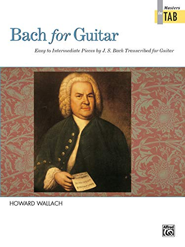 9780739020180: Bach for Guitar -- Masters in TAB
