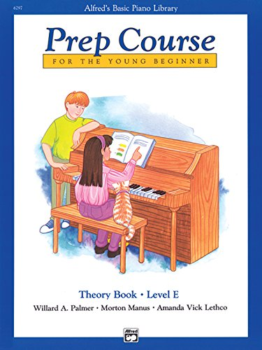 9780739020241: Alfred's Basic Piano Prep Course Theory, Bk E (Alfred's Basic Piano Library)