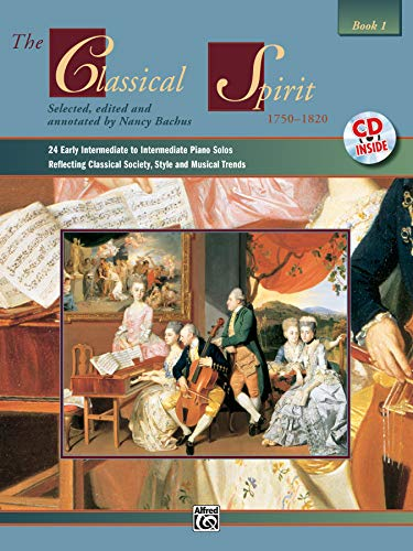 9780739020395: The Classical Spirit Book 1 Piano+CD (Spirit Series)