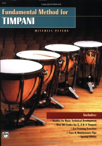 Fundamental Method for Timpani: Comb Bound Book: Mitchell Peters