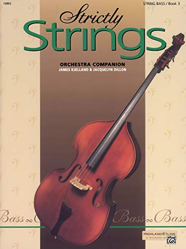 9780739020531: Strictly Strings, Book 3: String Bass