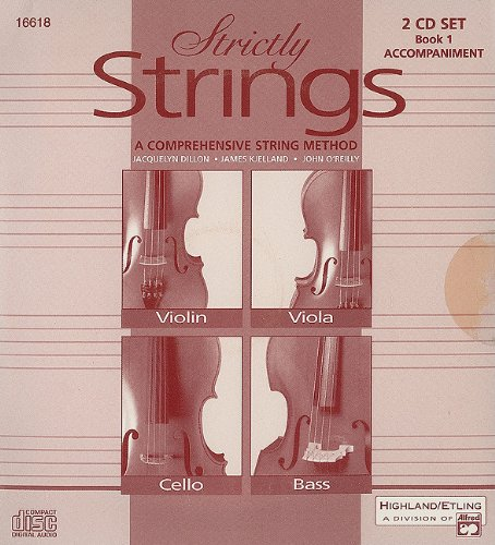 Strictly Strings, Bk 1: Acc., 2 CDs: Jacquelyn Dillon
