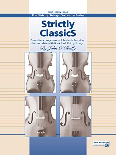 9780739020647: Strictly Classics, Book 2, Cello (Strictly Strings)