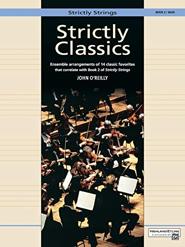 9780739020654: Strictly Classics, Bk 2: Bass (Strictly Strings)