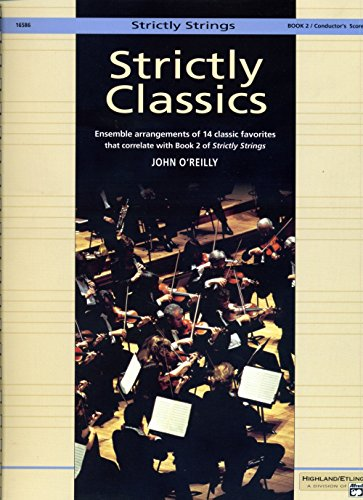 9780739020678: Strictly Strings Book 2 Conductor's Score (Strictly Classics)
