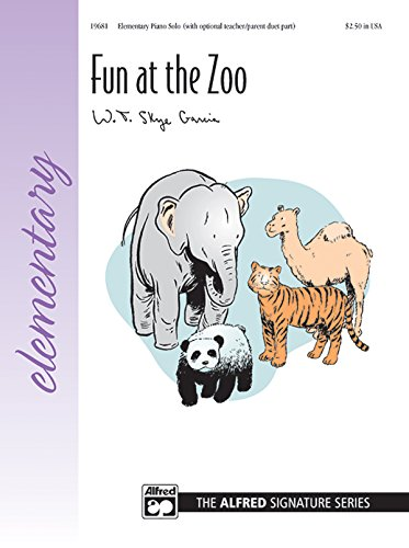 Fun at the Zoo: Sheet: Alfred Music