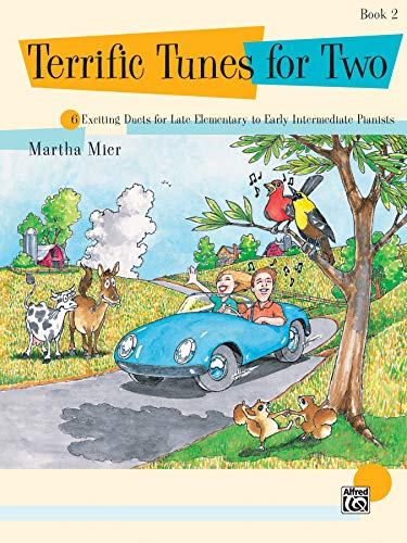 Terrific Tunes for Two, Bk 2: 6 Exciting Duets for Late Elementary to Early Intermediate Pianists