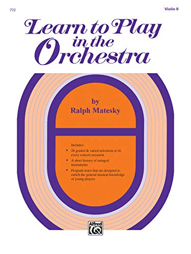 9780739021583: Learn to Play in the Orchestra, Bk 1: Violin II