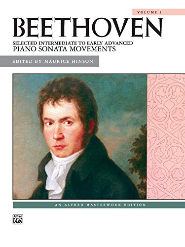 9780739021644: Beethoven -- Selected Intermediate to Early Advanced Piano Sonata Movements, Vol 1 (Alfred Masterwork Library)