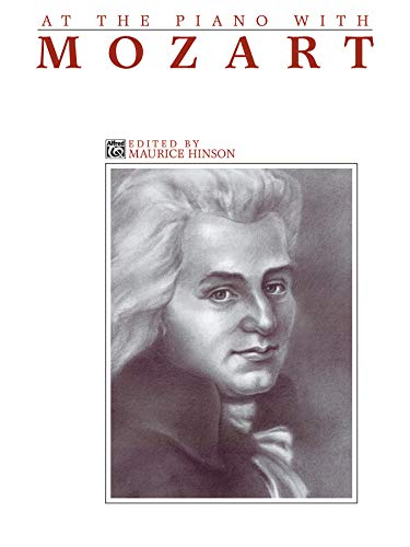 At the Piano with Mozart (Paperback)