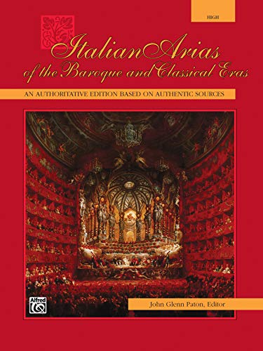 9780739021910: Italian Arias of the Baroque and Classical Eras: High Voice