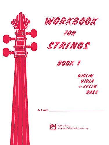 9780739021934: Workbook for Strings, Bk 1: Cello