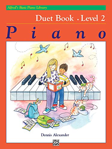 9780739022108: Alfred's Basic Piano Library Duet Book, Bk 2