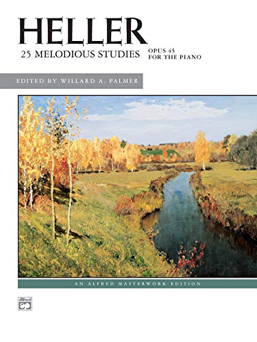 Heller 25 Melodious Studies: Opus 45 for the Piano: Heller . ed by Palmer