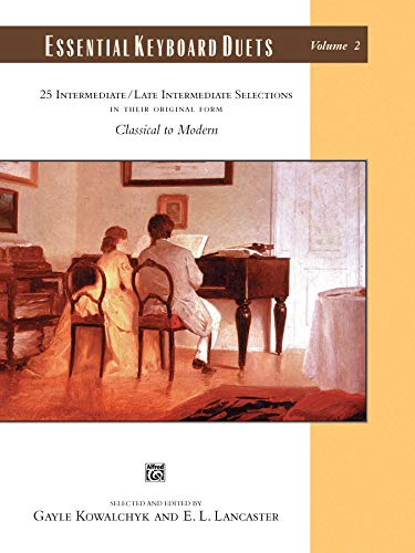 9780739023204: Essential Keyboard Duets, Vol. 2: 25 Intermediate/Late Intermediate Selections, Classical to Modern (Alfred Masterwork Editions)