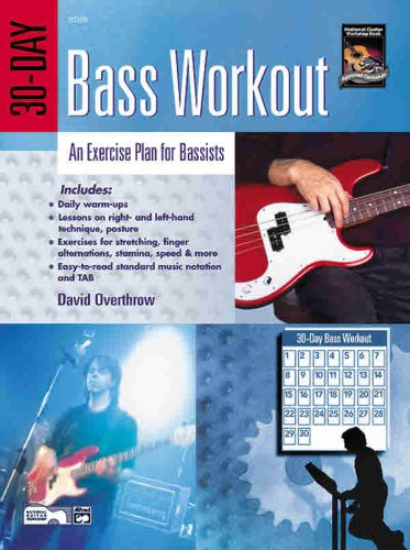 9780739023426: 30-Day Bass Workout: An Exercise Plan for Bassists