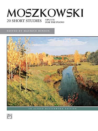 9780739023488: Moszkowski -- 20 Short Studies, Op. 91 (Alfred Masterwork Edition)
