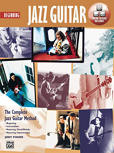 9780739024065: Beginning Jazz Guitar J. Fisher DVD