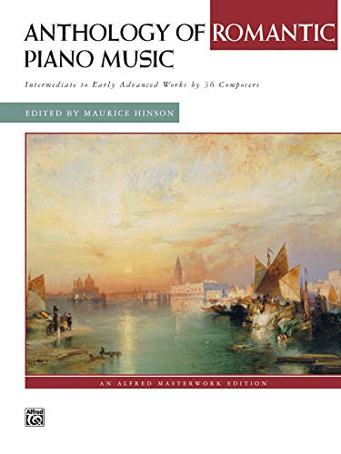 9780739024096: Anthology of Romantic Piano Music