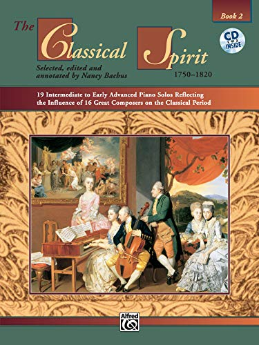 The Classical Spirit, Book 2 with CD - Piano Solo: Bachus