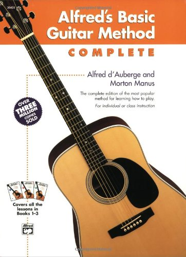 9780739024287: Alfred's Basic Guitar Method, Complete (Alfred's Basic Guitar Library)