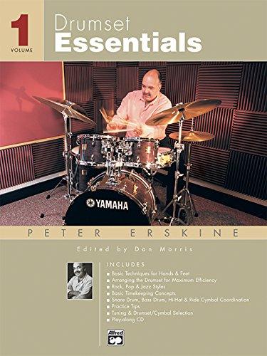 9780739024461: Drumset Essentials, Vol 1: Book & CD