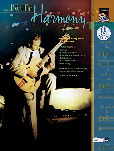 9780739024683: Jazz Guitar Harmony: Take the Mystery Out of Jazz Harmony, Book & CD
