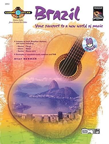 9780739024768: Guitar Atlas Brazil: Your passport to a new world of music, Book & CD