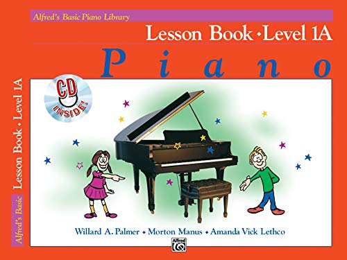 9780739024836: Alfred's Basic Piano Library Lesson Book, Bk 1A: Book & CD
