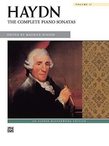 9780739024980: Haydn -- The Complete Piano Sonatas, Vol 2: Comb Bound Book (Alfred Masterwork Edition)