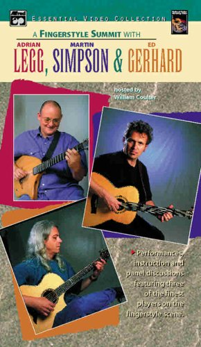 9780739025499: A Fingerstyle Summit With Adrian Legg, Martin Simpson & Ed Gerhard
