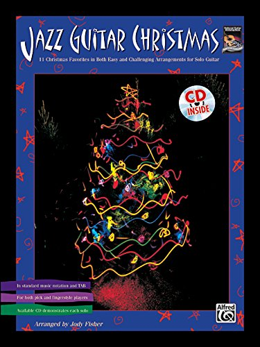 Jazz Guitar Christmas Solos (Book & CD): Fisher, Jody