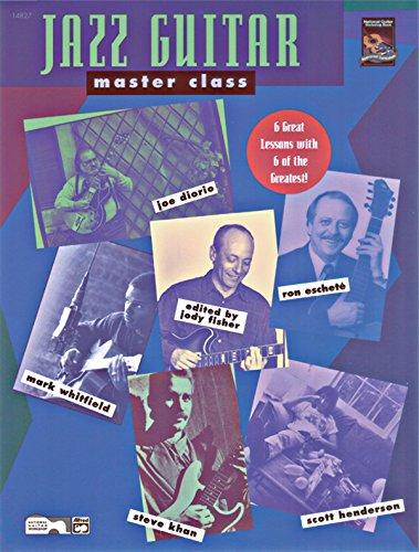 9780739025888: Jazz Guitar Master Class: 6 Great Lessons with 6 of the Greatest!