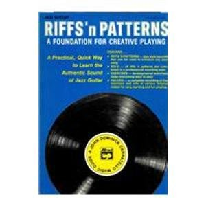 9780739026236: Riffs 'n Patterns Jazz Guitar: A Foundation for Creative Playing
