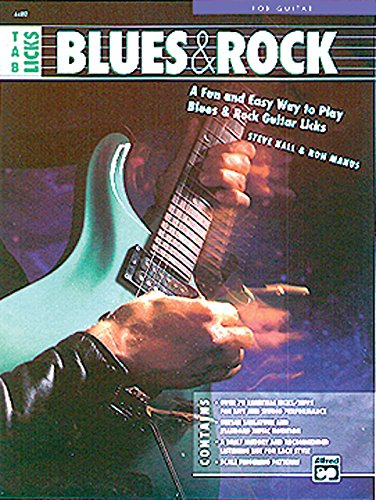 9780739026458: Tab Licks - Blues & Rock: A Fun and Easy Way to Play Blues & Rock Guitar Licks