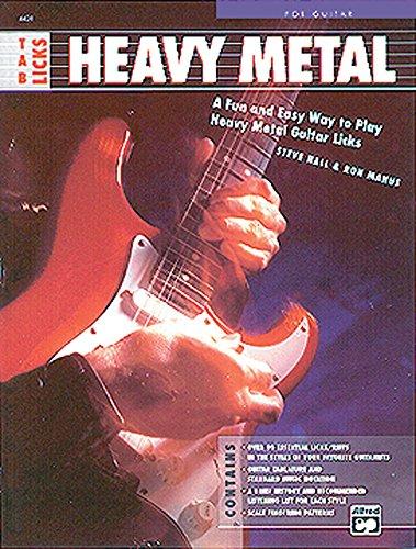 Tab Licks: Heavy Metal. For Guitar.: Hall,Steve. Manus,Ron.