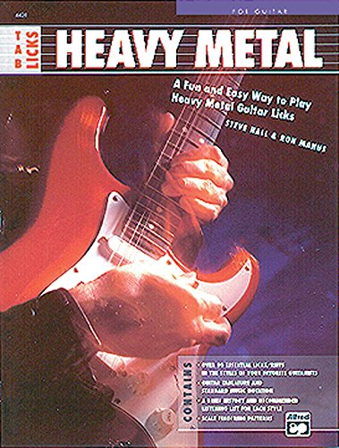 9780739026465: Tab Licks -- Heavy Metal: A Fun and Easy Way to Play Heavy Metal Guitar Licks