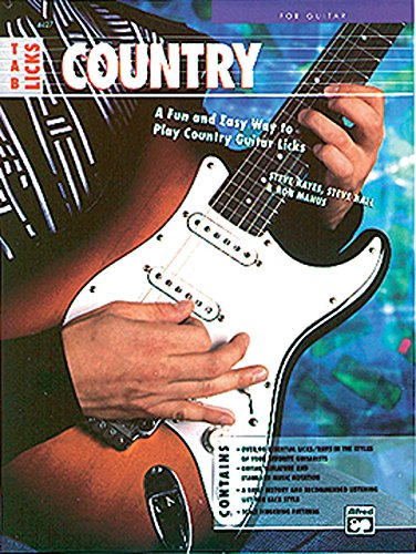 9780739026502: Tab Licks -- Country Guitar: A Fun and Easy Way to Play Country Guitar Licks