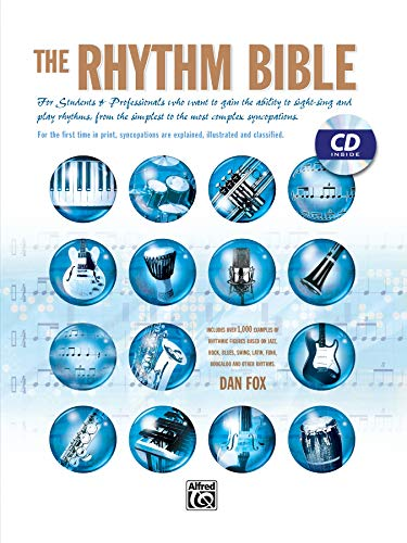 9780739026779: The Rhythm Bible: Book & CD