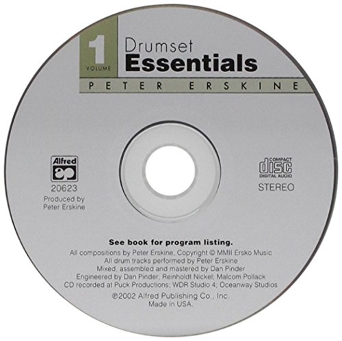 9780739026854: Drumset Essentials, Volume 1